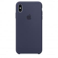 Apple iPhone XS Max Silicone Case original - Midnight blue