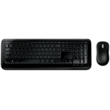 Microsoft Wireless Desktop 850 Mouse- and Keyboardkit, wireless, AES-crypted, black