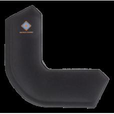 DELTACO GAMING Wristpad Corner, corner-shaped wrist support, 21mm height, black