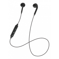 STREETZ Semi-in-ear Bluetooth headset, optimal fitness, media controller, black