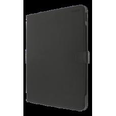 DELTACO iPad case with support function, for iPad Pro 12,9 (2018), sleep/wake, vegan leather, black