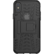 Dazzler Case for iPhone X, cushioning, cutouts for heat, black