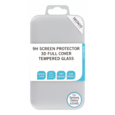 DELTACO Screen protector for Galaxy A30/A50, 2,5D tempered glass, 9H hardness