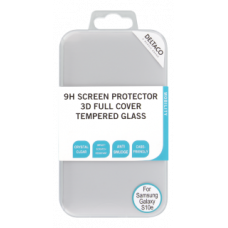 DELTACO Screen protector for Galaxy S10E, 2,5D tempered glass, 9H hardness,