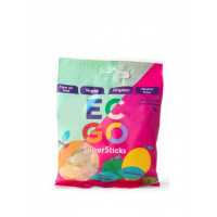 Ec-Go candy Supersticks ecologic & vegan, 10 bags x 75 g